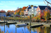 Autumn Harbor Shore