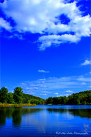Lake and Sky - Vertical