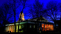 Early Spring Night-Milford Town Hall