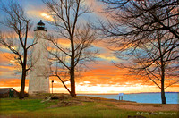 H-Lighthouse Sunset